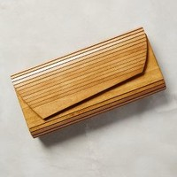 Hardwood Clutch by Inge Christopher Natural All Clutches
