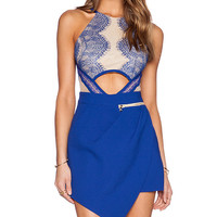 Three Floor x REVOLVE Sicily Playsuit in Blue