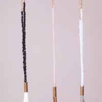 Tassel Bead Necklaces