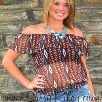 Tribal Diamond Top