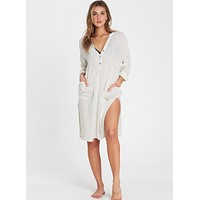 Billabong Women's Babe Waves Woven Cover Up | Seashell