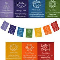 Chakra Attributes Flags -- Mexicali Blues