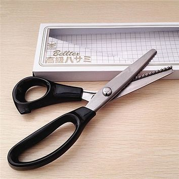 DIY stainless steel scissors sewing accessories tailor scissors cutting supplies metal shears plastic handle paper cutter knife