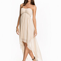 High Low Bandeau Dress, NLY Eve
