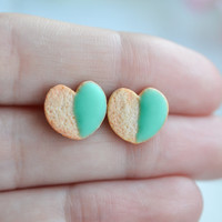Sugar cookie earrings-Sugar cookie collection-Scented-Miniature food jewelry