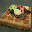 Waffle and Syrup Sheets w/ optional Fruit by Bfiberandcraft