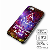 I Solemnly Swear That I am Harry Potter Galaxy iPhone 4 5 6 6+ Galaxy S3 4 5  Case