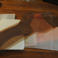 Vintage Womens Stockings/Fashionwear Hosiery/Thigh High/Pantyhose