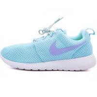 NIKE Women Men Running Sport Casual Shoes Sneakers Blue