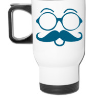 Dapper Nerd - Travel Mug