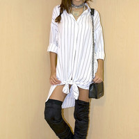 Guidelines Striped Tunic