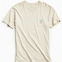 Embroidered Cactus Tee | Urban Outfitters