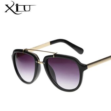 XIU Fashion Women Sunglasses Classic Shades Brand Designer Men Sunglasses Vintage Retro Eyeglasses Summer Style