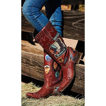 Double D by Old Gringo Escalante Boots~ Red