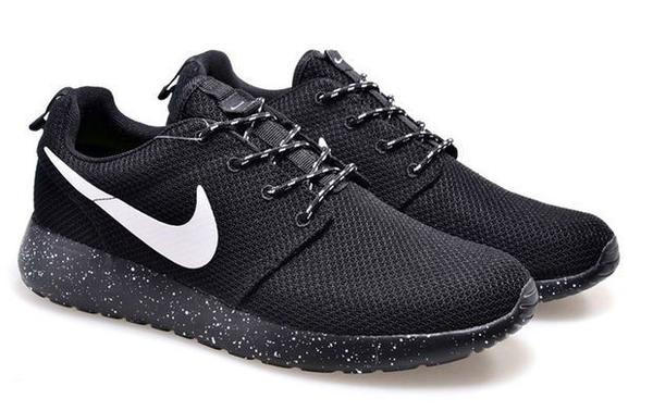 ... shopping 9fcc1 195b0 NIKE Women Men Running Sport Casual Shoes Sneakers  BLACK ... 4e488ea4d