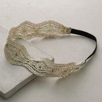 Passementerie Headband by Anthropologie White One Size Hair