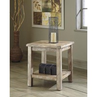 T500-302 Vennilux Chair Side End Table - Bisque - Free Shipping!