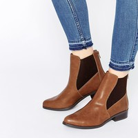 New Look Flat Ankle Chelsea Boots