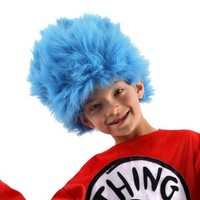 Adult Dr. Seuss - Thing 1 and 2 Wig
