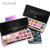 Focallure 14 Color Eyeshadow Palette  Powder Professional Make up Pallete Product Cosmetics