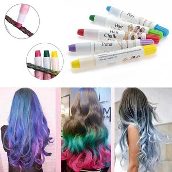 High Quality Beauty Temporary Super Comfortable Dye Colored Hair Pastel Hair Color Without Alcohol Crayon For The Hair