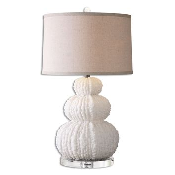 Fontanne Shell Ivory Table Lamp by Uttermost