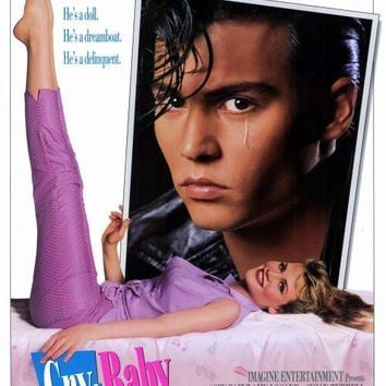 Cry Baby 27x40 Movie Poster (1990)