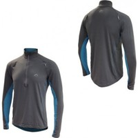 More Mile Hi-Viz Half Zip Mens Running Top from sportswearsupermarket.com | The discount clearance specialists