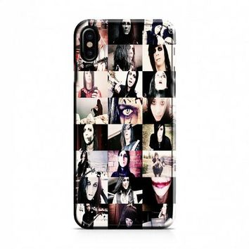 Motionless In White (collage) iPhone X Case