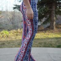 Watercolor Bell Bottoms