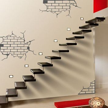 ShaNickers Wall Decal/Sticker Exposed BricksFREE by shanon1972