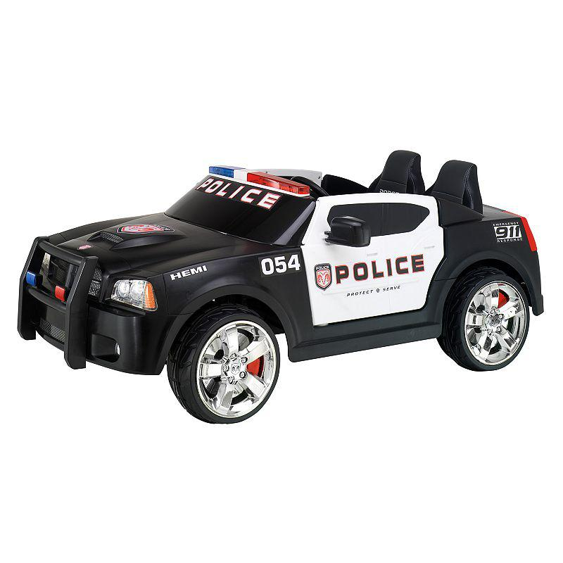 Kid Trax Dodge Charger Police Car From Kohl's