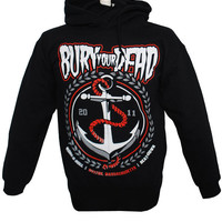Bury YOur Dead - Anchor Pullover Hoodie (Black) | Firebrandstore - Hundreds of Music Merchandise and branded goods
