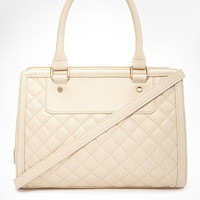 Quilted Rectangle Satchel