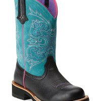 Ariat Turquoise Fatbaby Cowgirl Boots - Round Toe - Sheplers