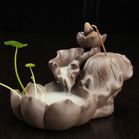Lotus Pond Incense Burners Sticks Holders