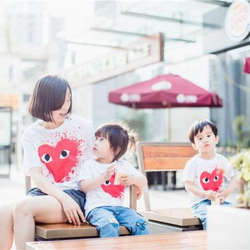 ONETOW CHICO 16 Love  Family Outfit Matching Cotton T Shirt ,  Baby Kids Boys& Girls T shirts,Price only for 1pcs