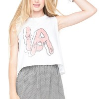 Brandy ♥ Melville |  Sadie LA Jelly - Graphic Tops - Clothing