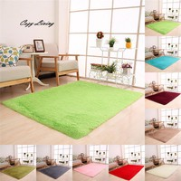 80*120CM Fluffy Anti-Skid Shaggy Area Rug