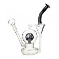 "9.5"" Crystal Ball Recycler 14mm"