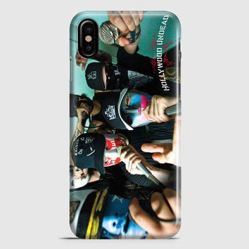Hollywood Undead Band iPhone X Case