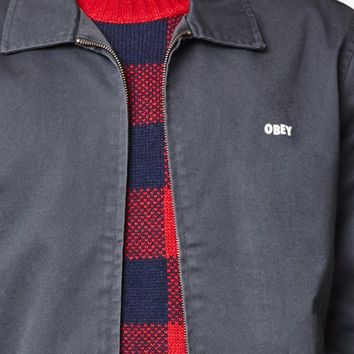 OBEY Slacker Zip Jacket at PacSun.com