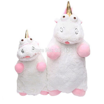 40cm And 55cm Despicable Me Fluffy Unicorn Juguetes Brinquedos Soft Stuffed Plush Toy Pillow Gift For Kids