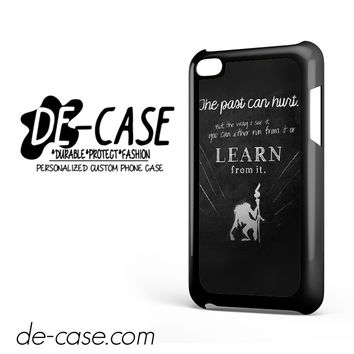 Rafiki Lion King Quote DEAL-9106 Apple Phonecase Cover For Ipod Touch 4