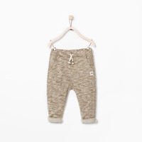 FLECKED TROUSERS
