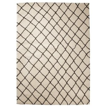 Threshold™ Criss Cross Fleece Rug - Cream