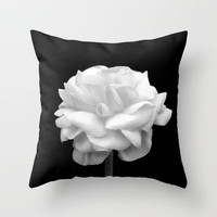Black And White Throw Pillow by Bree Madden    Society6