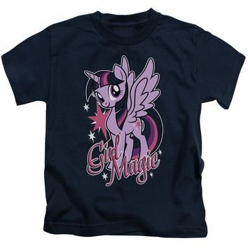 My Little Pony Boys T-Shirt Girl Magic Navy Tee