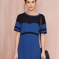 Nasty Gal Touchdown Georgette Dress