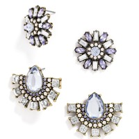 Cool Crystal Stud Set